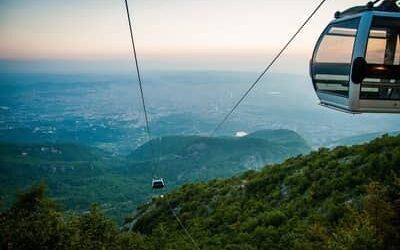 Dajti cable car – Dajti Ekspres Cable Car in Tirana
