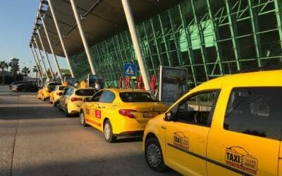 How much is a taxi in Albania?